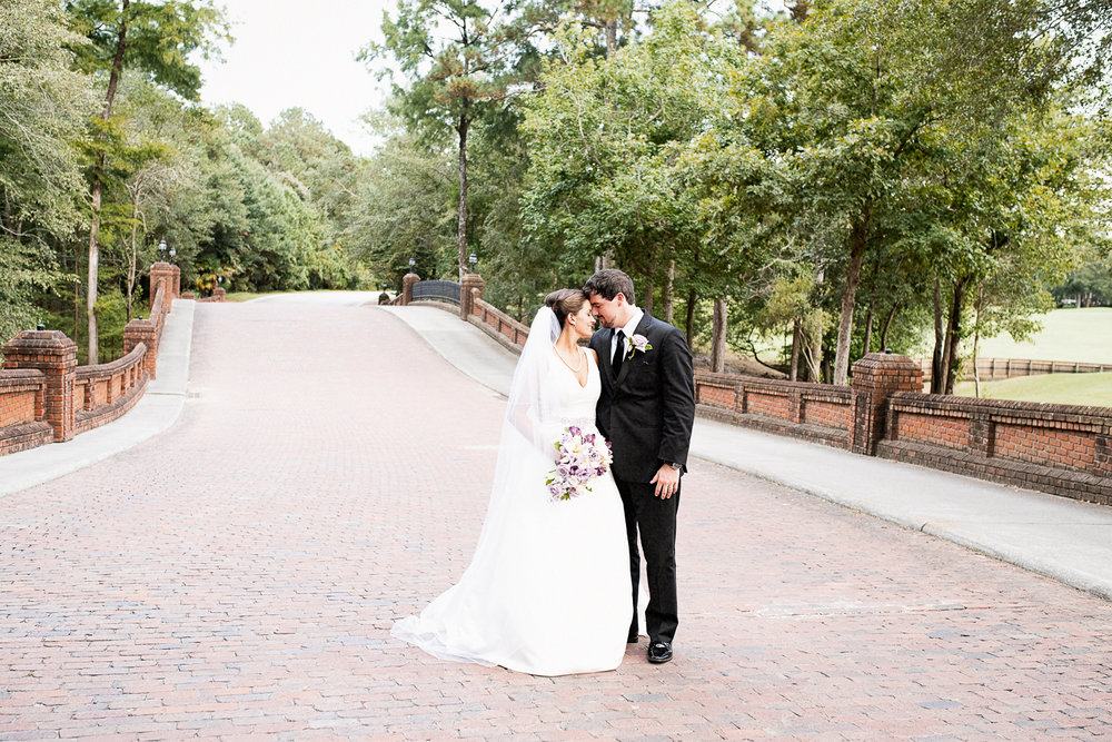 River Landing wedding bride and groom