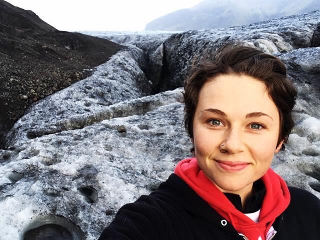Walking on Glaciers at Skaftafell National Park, Iceland