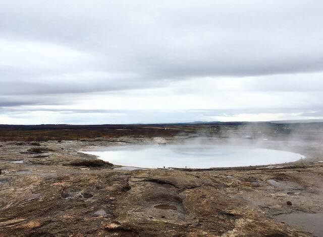 The once active Geyser (just feet away from it's active partner)