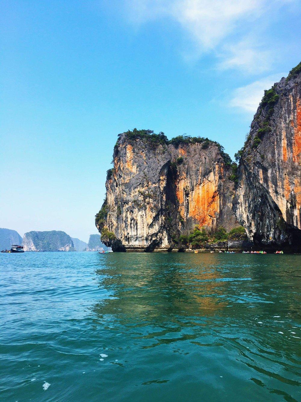 Islands off the coast of Southwest Thailand