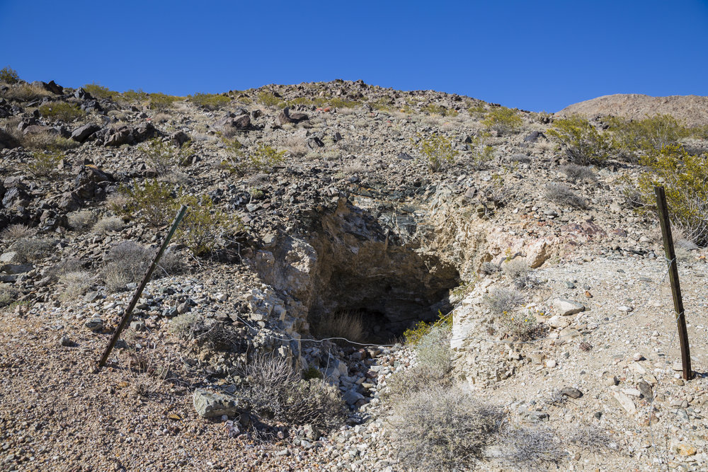 Old mine shaft