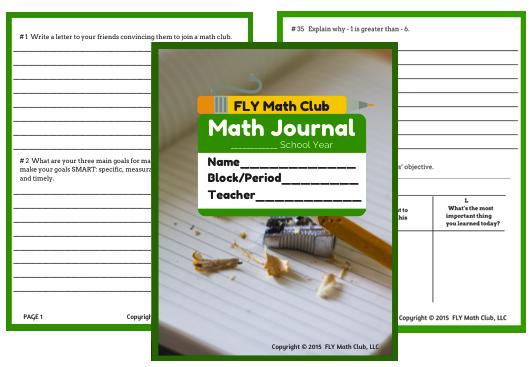 mathwritingjournal