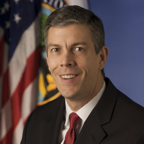 ARNE DUNCAN - FORMER U.S. SECRETARY OF EDUCATION