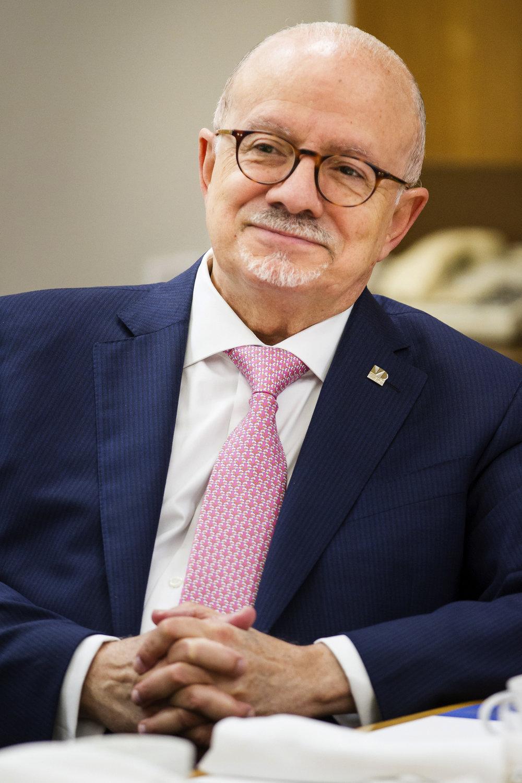 EDUARDO PADRON - PRESIDENT OF MIAMI DADE COLLEGE