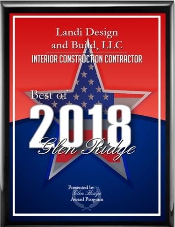 - LD+B recently was awarded the top Glen Ridge Interior Contractor Award for 2018!