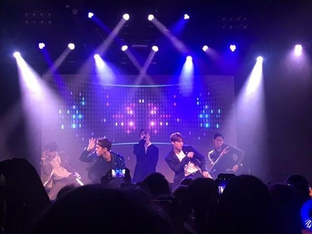 Incredible performance from IMFACT tonight in Cologne! 🎉🔥🎉 Congrats again to @portgas_d_lalas for winning the contest  #Imfact #임팩트 #EuropeTour #ImfactEuropeanTour2019 #지안 #제업 #태호 #이상 #웅재 #JIAN #JEUP #TAEHO #LEESANG #UNGJAE