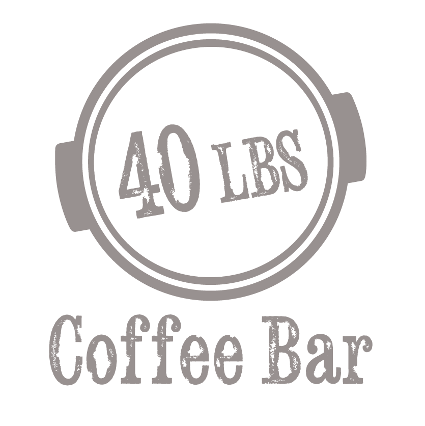 40 Lbs Coffe Bar Logo.PNG