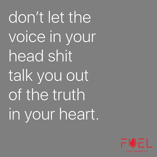 #breakfree from what's holding you back and follow the truth in your heart. ❤️ #quietthemind -#followtheheart ... #thisfuelsme #sweatpurposepassion #fuelyogaworkouts