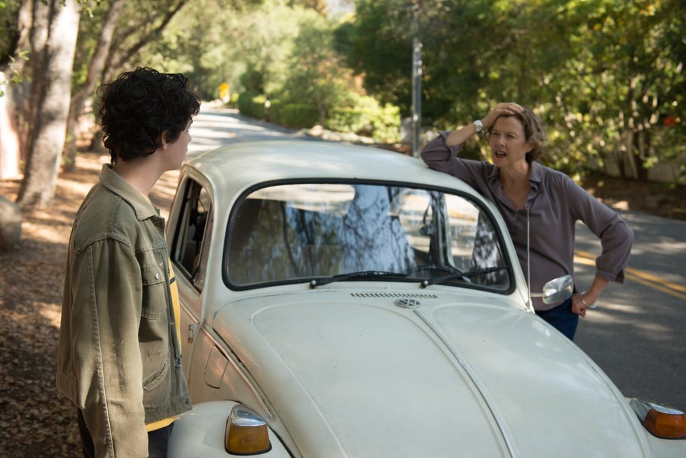 Lucas Jade Zumann and Annette Benning in in  20th Century Women  © 2016 A24