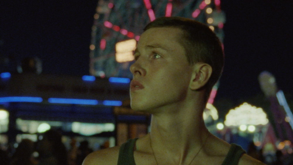 Harris Dickinson in  Beach Rats  © 2017 Neon