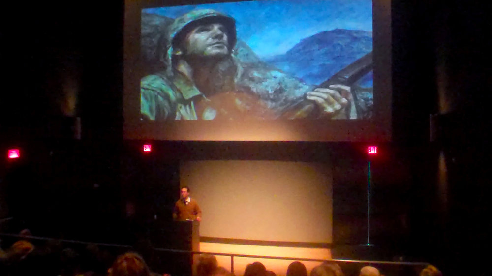 National Museum of The Marine Corps Lecture Dustin Neece.jpg