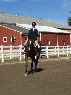 Bridget Finnerty '17 bested her Open Flat competition at the Intercollegiate Horse Show Saturday.