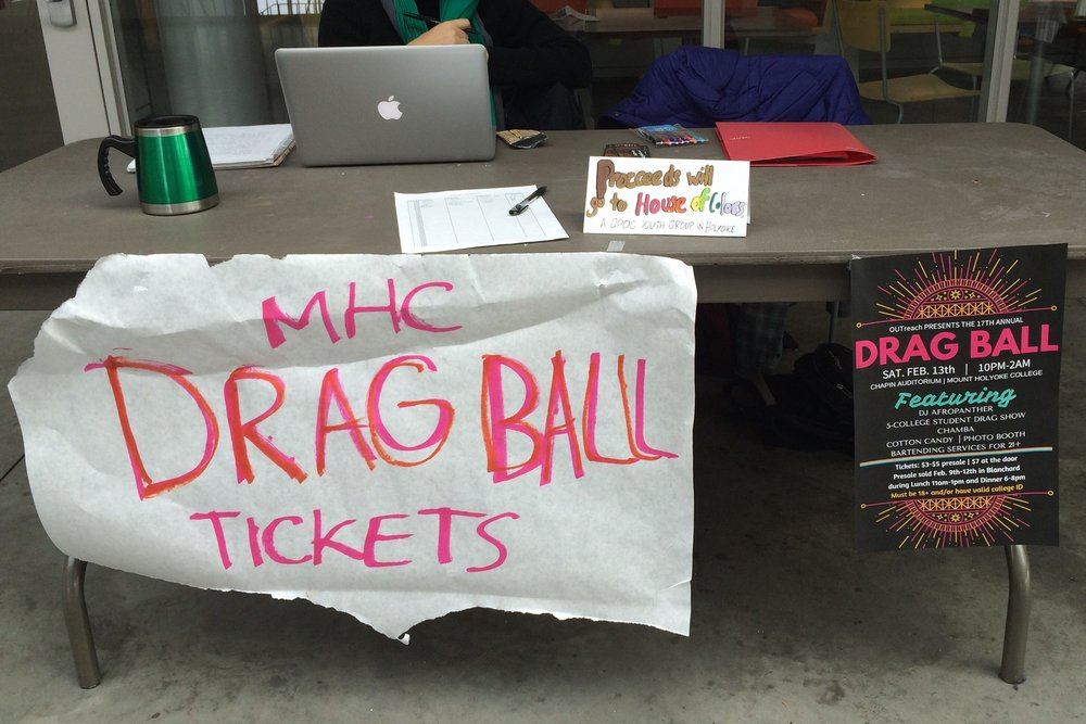 Photo courtesy of MHC OUTreach FAMILIA, a student org open to LGBTQ people of color, will take over the organization of Drag Ball in 2017.
