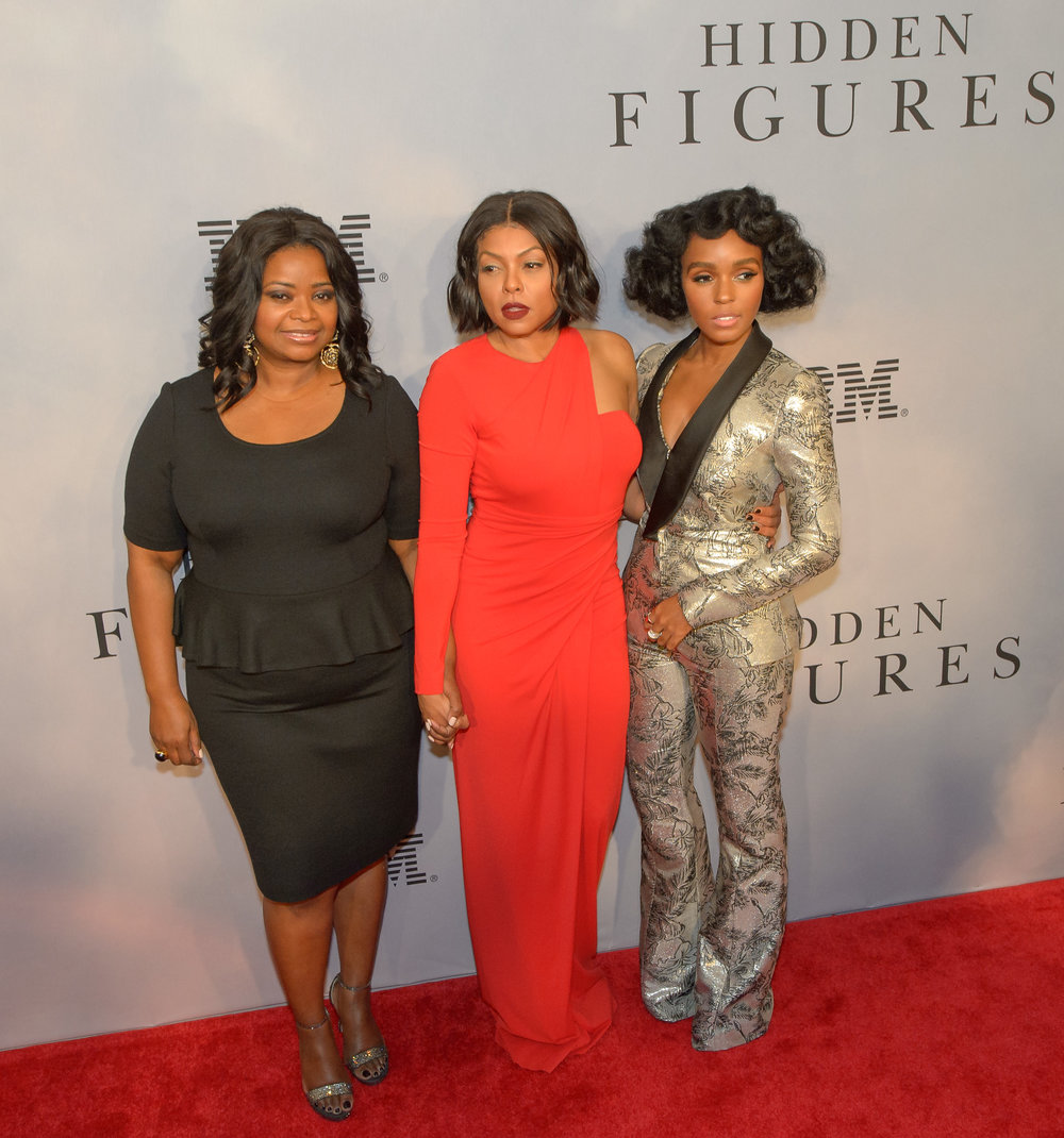 Photo Courtesy of Wikimedia Commons Octavia Spencer, Taraji P. Henson and Janelle Monae star in the movie.