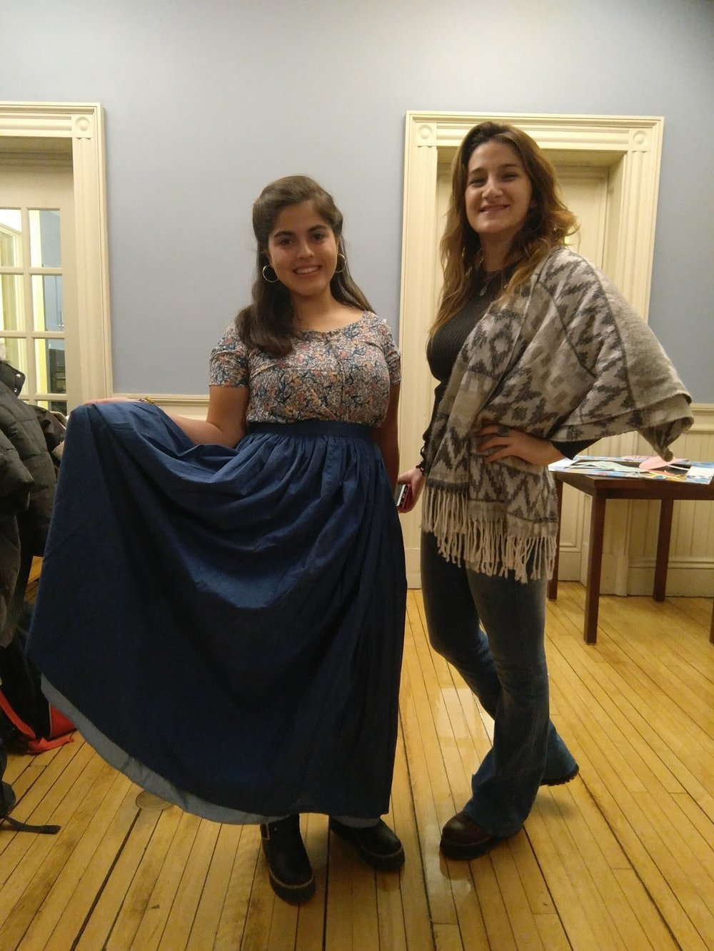 Photos courtesy of Virginia Guevara Friends of Fulbright scholars, members of the LLC Spanish floor and friends gathered to celebrate Argentinian culture