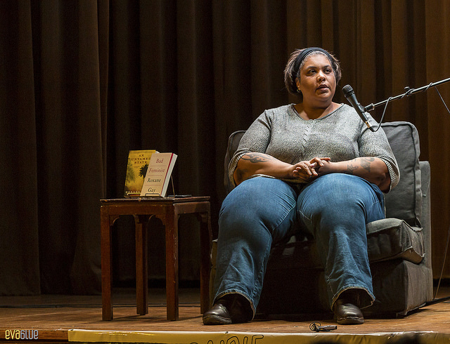 Photo courtesy of Flickr/Eva Blue Best-selling author Roxane Gay gave a workshop on writing with passion on Friday, Feb. 17.
