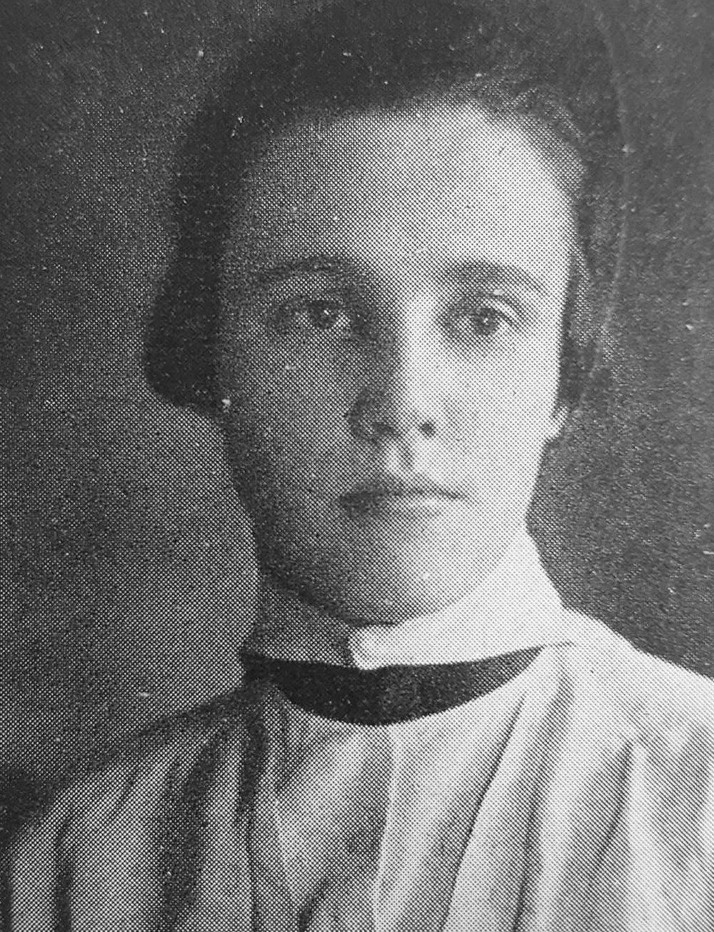 Photo courtesy of the Mount Holyoke archives  Mary Aplin served as the newspaper's Editor-in-Chief from 1917 to 1918.