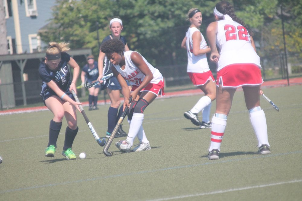 Photo by Emily Pollack '20  The Mount Holyoke team's strong offense helped them win on Saturday.