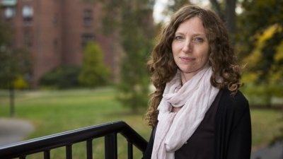 "Photo credits to Mount Holyoke College.   Andrea Foulkes, Mount Holyoke Professor of mathematics and statistics, says she is ""delighted"" to be the recipiant of the grant, which will go toward developing statistical methods for analyzing big datasets."