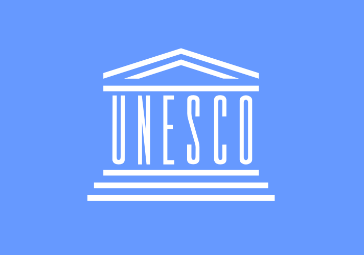 Flag of UNESCO Courtesy of Wikicommons