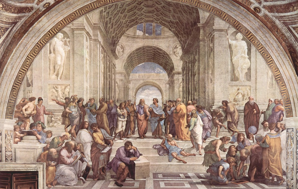 Image courtesy of Wikimedia Commons  Despite being thousands of years removed from modern world, Plato and his ancient contemporaries still teach students valuable lessons in universities around the globe.