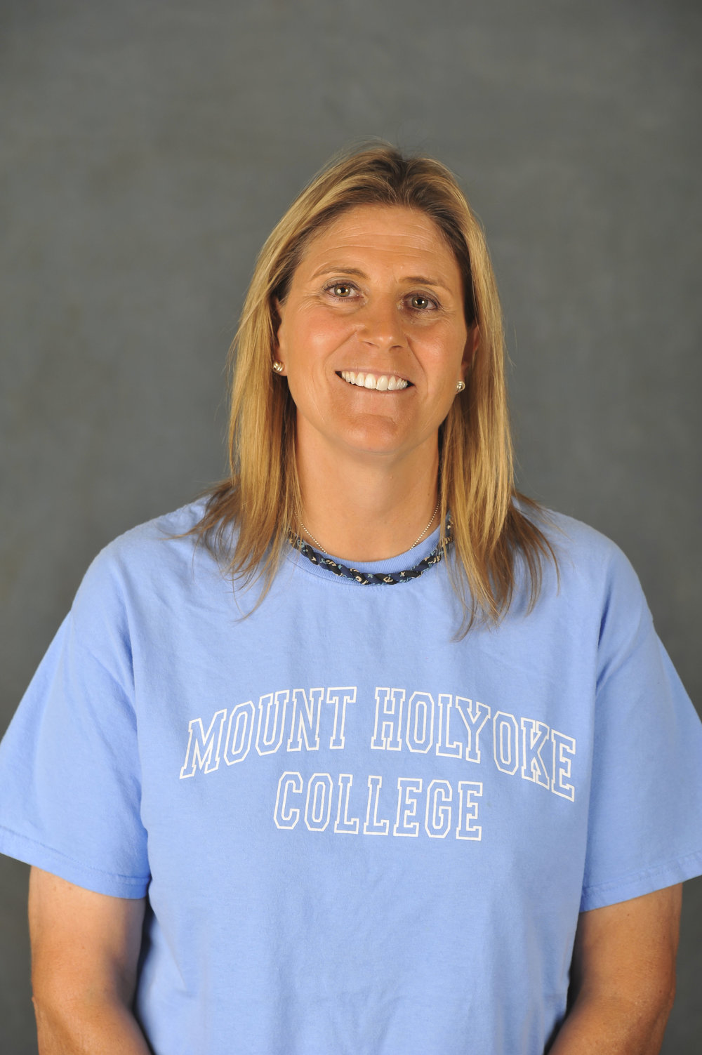 Photos by Izzy Olgaard '18  Andy Whitcomb is the current head coach of the Mount Holyoke Field Hockey team. She is in her 20th season.
