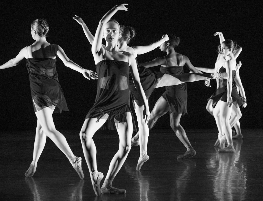 Photo Courtesy of Jim Coleman  Dancers perform at the annual faculty dance concert held by the Mount Holyoke dance department. The concert featured dance groups from the all of the Five Colleges.