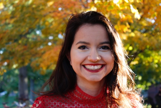Photo courtesy of Sofia Rivera '18  Rivera is a senior international relations major who has applied her education to political involvement in the local community and beyond.