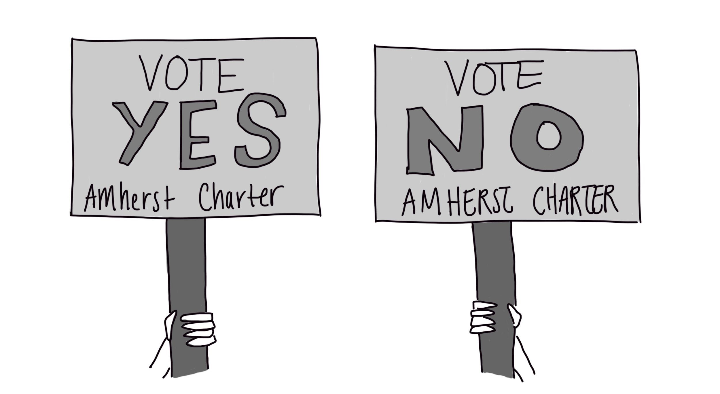 Town of Amherst votes to change their 1938 charter and