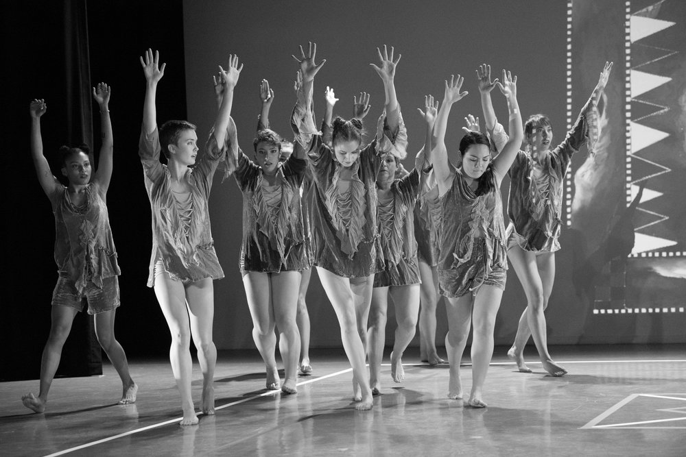 Photo Courtesy of Jim Coleman  Smith College students dance to a medley of Jimi Hendrix songs in the Five College faculty dance show in November last year at Mount Holyoke.