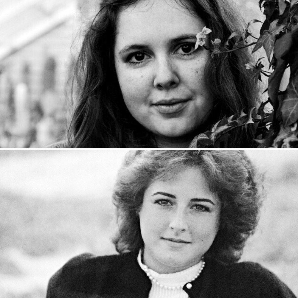 Image courtesy of Emily Bernstein '18  Senior portraits of Emily Bernstein '18 (above) and Jill (Weiner) Bernstein '84 (below)