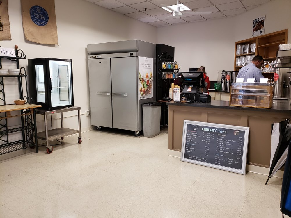 Photo by Jenny Cho '20   The Library Cafe is on the first floor of Williston Library, in the space previously occupied by Rao's Coffee Shop.