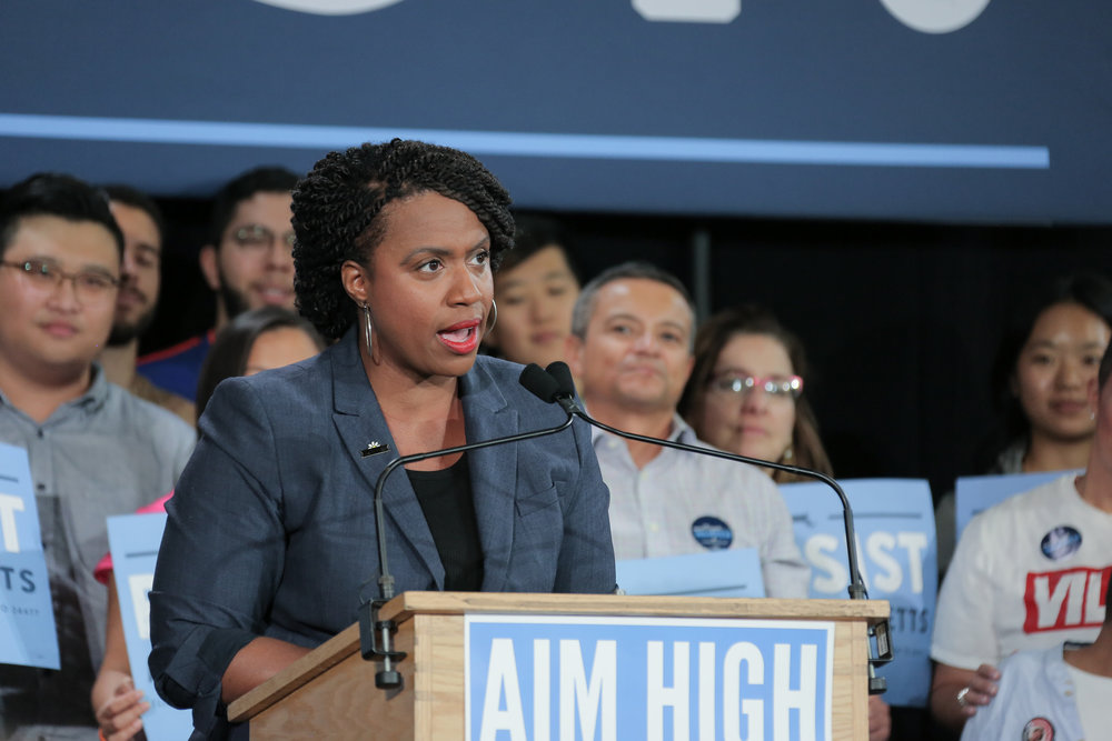 Photo courtesy of Flickr   Ayanna Pressley became Massachusetts' first black woman in Congress after winning the election on Nov. 6