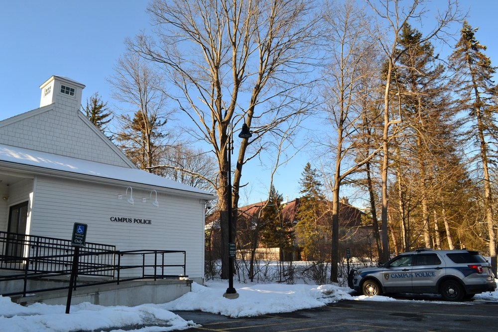 Photo by Flannery Langton '22  The campus police department for Mount Holyoke and Smith Colleges recently hired Daniel Hect as its chief.