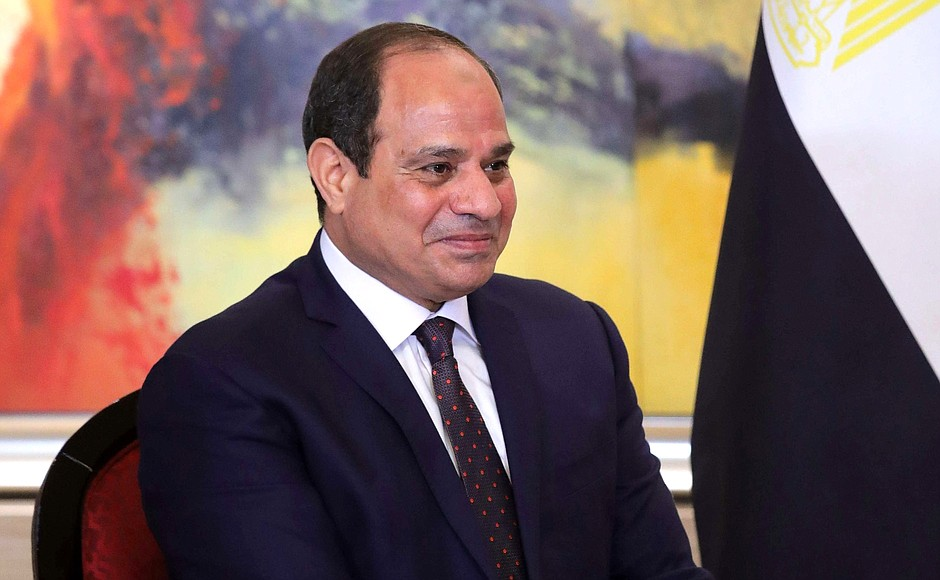 Photo courtesy of Wikimedia Commons Egypt's president Abdul Fattah el-Sisi, who may govern until 2034.