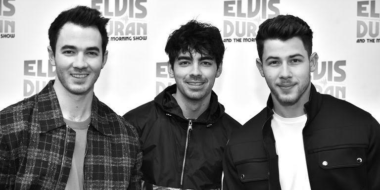 Photo courtesy of Getty Images   The Jonas Brothers at the Elvis Duran Z100 Morning Show on March 1.