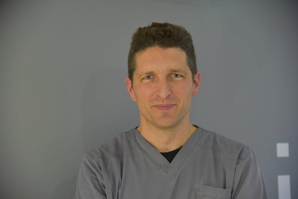 Dr. Eleftherios Martinis, Implantologist and Oral Surgeon at tooth dental surgery in waterloo, London