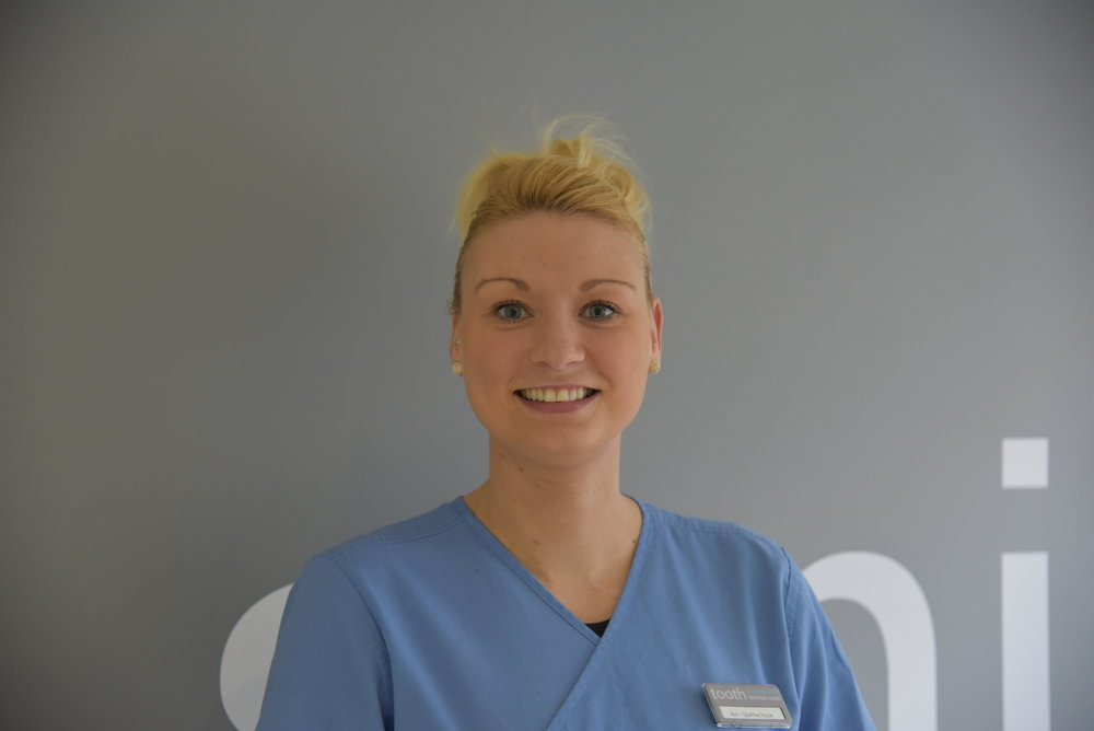 Kim, Qualified Dental Nurse (GDC 156156)