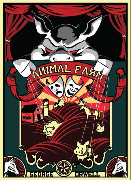 Animal Farm By George Orwell Theatre The Chocolate Church Arts Center