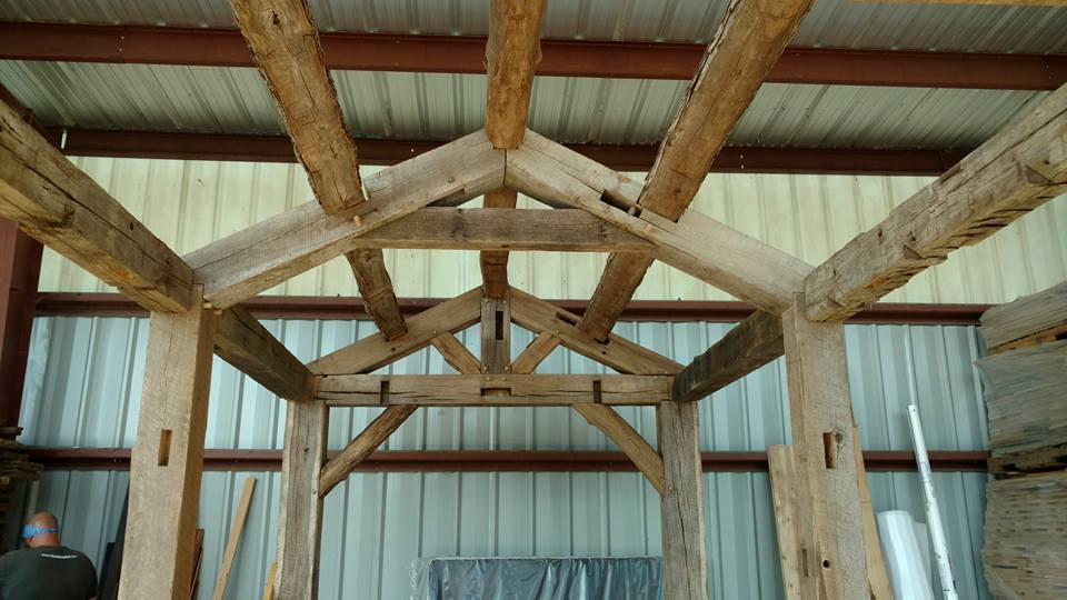 Really cool look at the inside frame work of one of our tiny home designs.