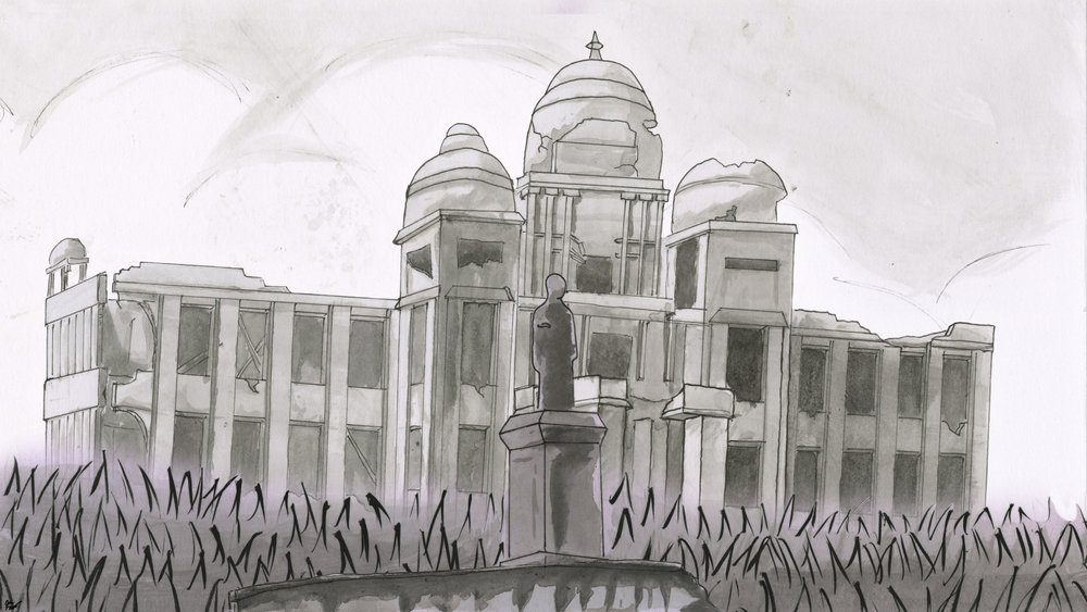 The Burning of the Jaffna Library