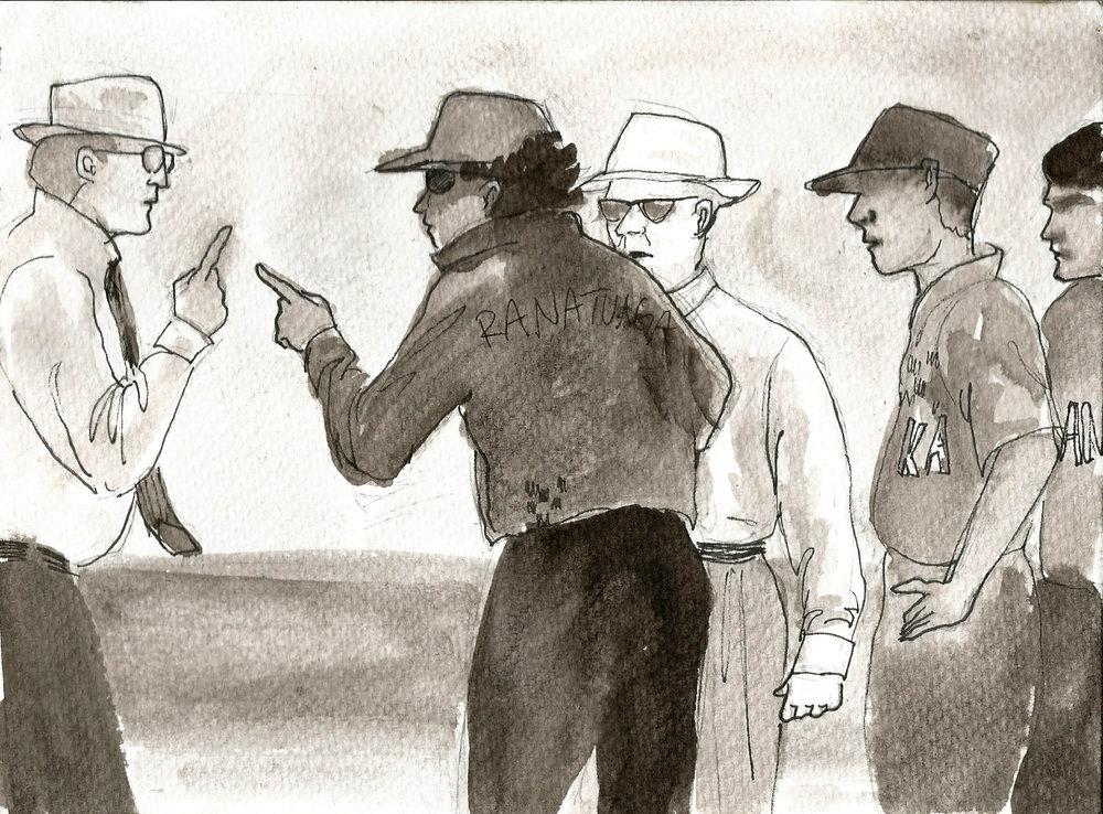 Ross Emerson vs Sri Lanka