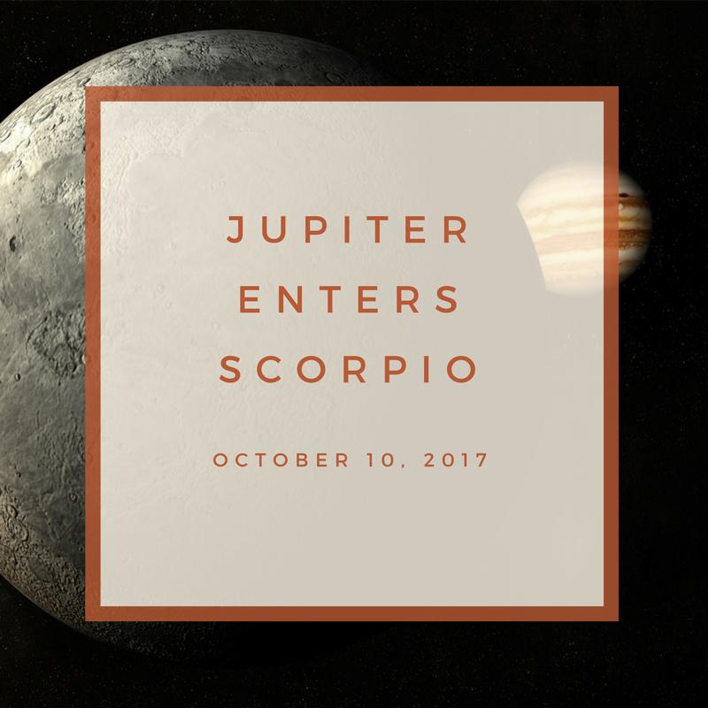 Jupiter in Scorpio — Rachel Lang