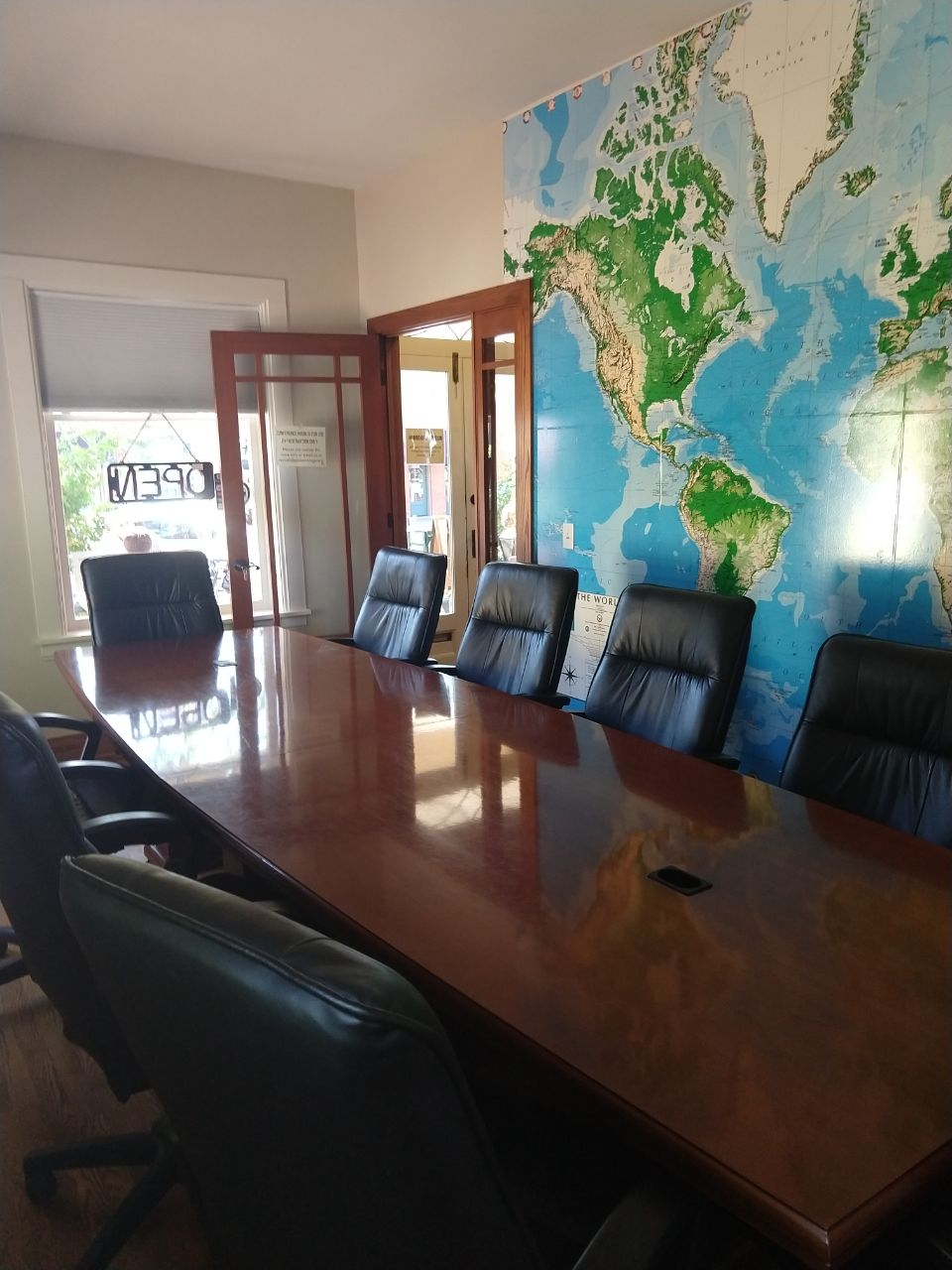 The Conference Room at Global Goods & Coffee