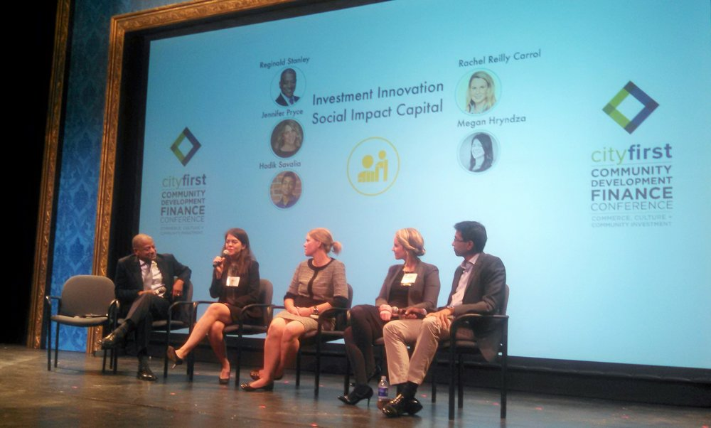 It was exciting to join impact leaders (and Mighty's heroes) on the closing panel of the City First Community Development Conference on October 5th to talk social impact capital in DC. City First Bank of DC is the first of two banks in the country to partner with Mighty to pilot a new digital experience for customers to experience the community impact of their banking business.
