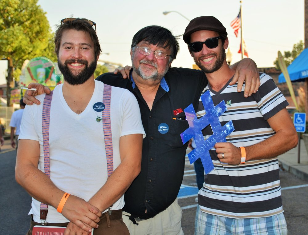 "Kory (left) told us he loves the Delta so much, he brought his brother, Casey, and dad, Billy, down for a roadtrip to experience the Blues.  For his love of the Blues and the Delta, Kory told us putting some of his bank money to work in the Delta is a no-brainer. ""It's a way for me to give back to a place I love, while I still get the security of banking that I need."""