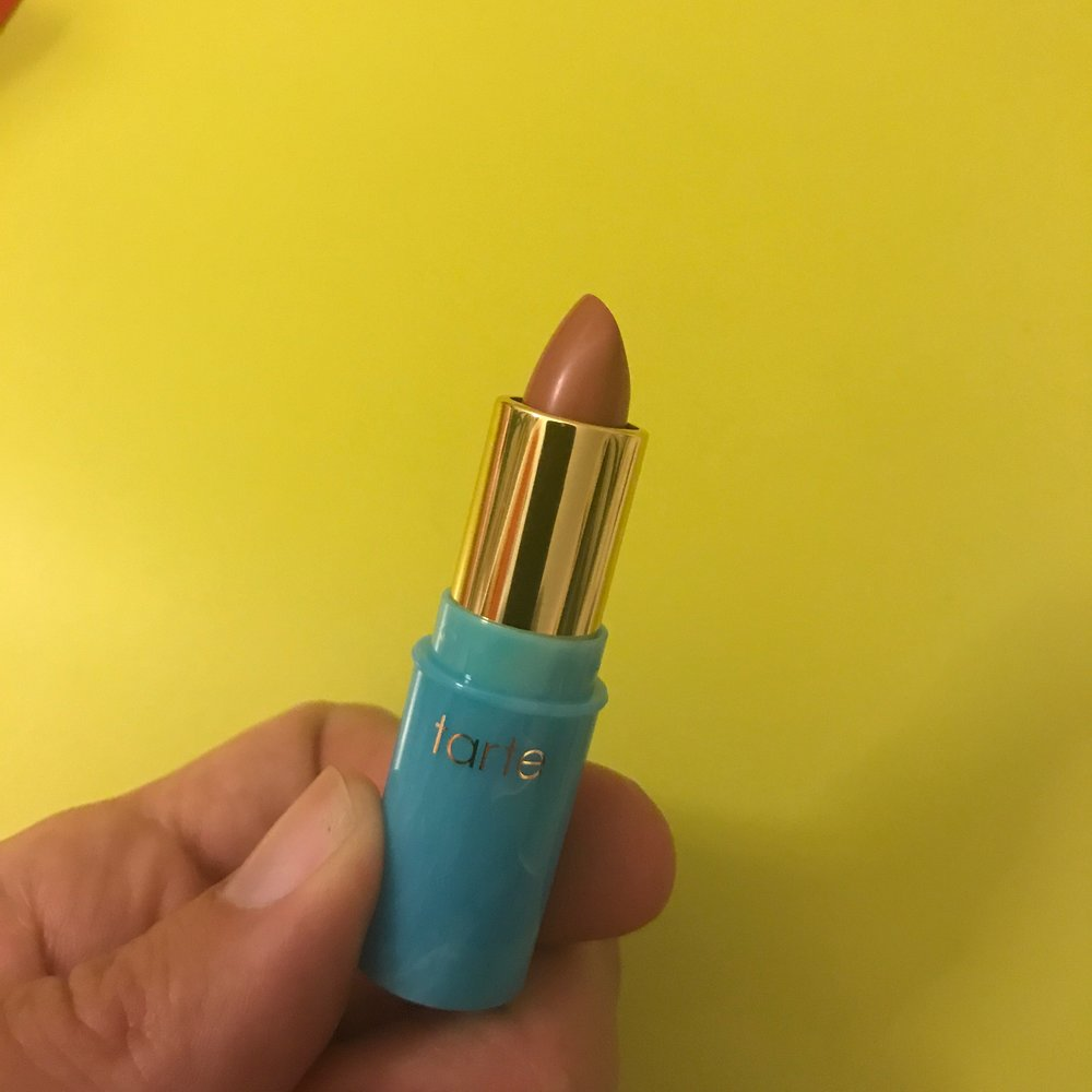 Tarte Lipstick - YUMMY. So smooth. So cute.