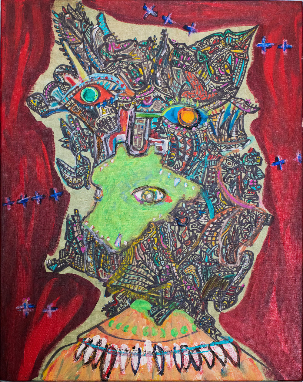""" GERMS ""    16 × 20 in  2016"