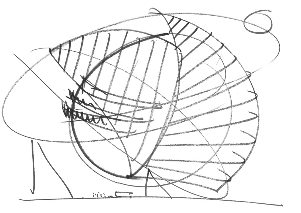 Museum Sketches by  Olafur Eliasson , 2015