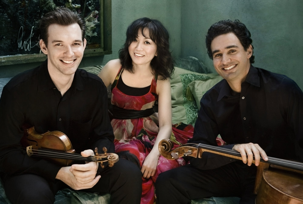 Horszowski Trio: Jesse Mills, violin; Raman Ramakrishnan, cello; Rieko Aizawa, piano